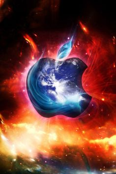 so cool!!!!!!!!! it's a apple sign!!!!!!!!!!!!!
