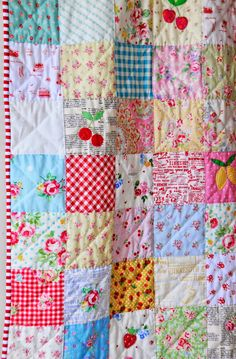 Helen Philipps: Scrappy Summer Quilt Finish