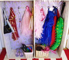 DIY Kids Dress Up Wardrobe