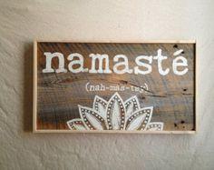 namaste by BrindleBean on Etsy