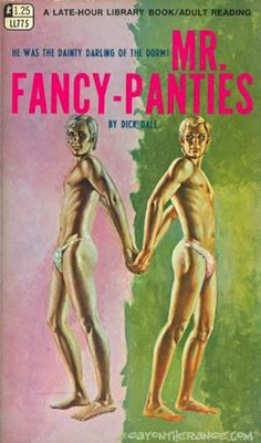 19 Outrageous Gay Sleaze Book Covers From The '50s And '60s