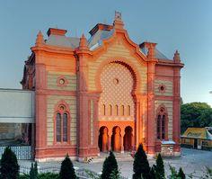 Ehemalige Synagoge, heute Philharmonie Uschhorod, Ukraine