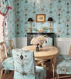 """O Estilo """"Country French"""" French Country Interiors, French Country Dining, Country Dining Rooms, French Country Style, Country Blue, French Cottage, Cottage Style, Country Interior Design, Interior Design Pictures"""