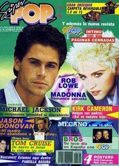 Rob Lowe y Madonna: Romance Secreto