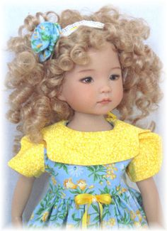 "Spring Outfit for 13"" Dianna Effner Little Darling Doll"