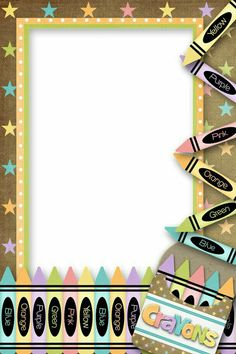 Album Archive - Back to School Printable Border, Boarders And Frames, School Frame, School Clipart, School Scrapbook, Borders For Paper, Vintage School, Frame Clipart, Paper Frames