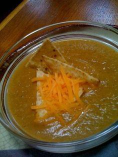 Poblano Cream Soup