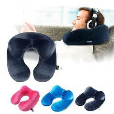 U-Shape Travel Inflatable Neck Pillow