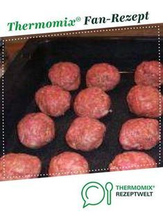Frikadellen herzhaft aus dem Backofen Meatballs hearty from the oven by A Thermomix ® recipe from the main meat with meat category www.de, the Thermomix® Community. Meatballs with Jvegetarian meatballsGourmet meatballs Hamburger Meat Recipes, Meatball Recipes, Burger Recipes, Sausage Recipes, Grilling Recipes, Beef Recipes, Cooking Recipes, Smoked Beef Brisket, Homemade Burgers