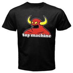 Custom New Toy Machine Skateboarding black t shirt size S M L XL XXL XXXL tee, $23.99