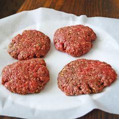 Becky's Recipes: Josh's Homemade Hamburger Patties