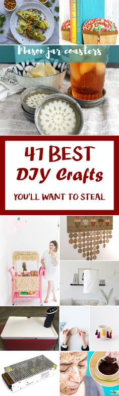 47 Best DIY Crafts You'll Want To Steal