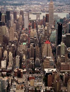 Aerial #new york #skyline #nueva york