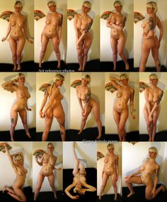 Art reference photos - Curvy female poses by TN-exposed on DeviantArt