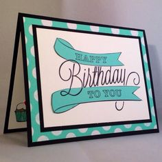 Stampin Up Another Great Year Birthday Card - original design by Kathryn Kunchick stampinwithpassion.blogspot.com