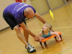 The Heartland Area Education Agency's website provides lists and descriptions of adapted recess activities, physical education activities and games for students with disabilities.They also provides multiple indoor and outdoor modification suggestions to certain activities as well. They also provides other links to websites the offer more activities!