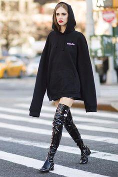 Pinterest Nerea Aizpuru     How to Wear: Hoodie