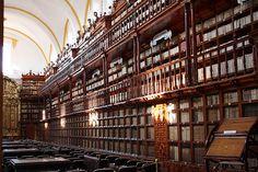 Biblioteca Palafoxiana (Palafoxian Library) [Puebla, Puebla] #WeVisitMexico #TravelTuesday