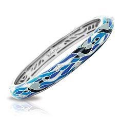 Belle Etoile Seahorse Deep Sea Blue Ring NWT Size 7