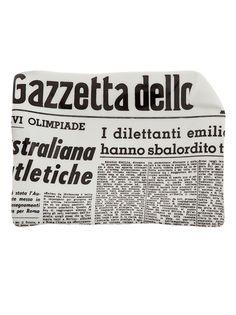 FORNASETTI - La Gazzetta dello Sport ashtray