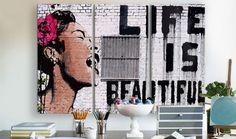 Banksy Street #Art Favorites on #HauteLook #BillieHoliday