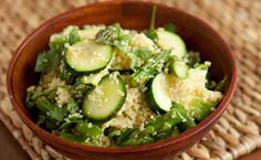 Epicure's Moroccan Green Couscous Salad calories/serving) top with lean protein Epicure Recipes, Healthy Recipes, Dip Recipes, Recipies, Moroccan Couscous Salad, Moroccan Dishes, Lemon Pasta, Lean Meals, Different Recipes