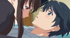 Yuu Haruna and Koyuki Hinashi Student Teacher, Yuu, Awesome Anime, Anime Shows, Live Tv, Cyber, How To Draw Hands, Animation, Cartoon