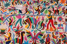 Otomi indian embroidery from Tenango de Doria Hidalgo,Mexico | Flickr - Photo Sharing!