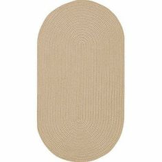 """Mill Creek Putty Rug Rug Size: Oval 11'4"""" x 14'4"""" by Capel Rugs. $636.66. 0850-725+ (11'4"""" x 14'4"""" Oval) Rug Size: Oval 11'4"""" x 14'4"""" Features: -Outdoor braid made from 100pct polypropylene.-Reversible for twice the wear. Options: -Available in the following sizes: Oval 11'4'' x 14'4'', Oval 20'' x 30'', Oval 24'' x 36'', Oval 27'' x 48'', Oval 3' x 5', Oval 4' x 6', Oval 5' x 8', Oval 7' x 9', Oval 8' x 11', Oval 9'2'' x 13'2'', Round 3', Round 5'6'', Round 7'6'', Rou..."""