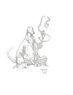 omercifulheaves: HellboyArt by Mike Mignola Mike Mignola Art, Illustration Story, Sketchbook Pages, Holiday Pictures, Comic Page, Character Design Inspiration, Manga Art, Art Reference, Concept Art