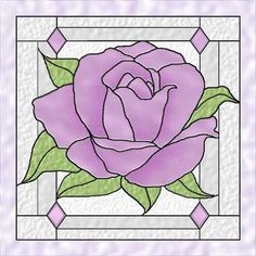 American Beauty Rose 3 Stained Glass Celtic Quilt Pattern by Celtic Crossworks at Creative Quilt Kits