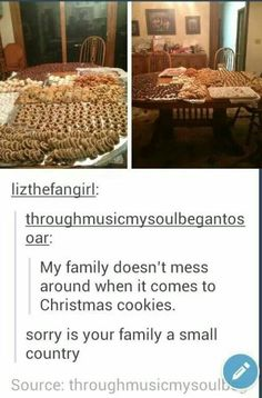 Christmas cookies clean funny