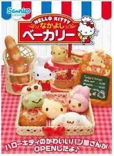 "Re-Ment ""Hello Kitty Bakery"" - Full Sets #1-#8 Kawaii Sanrio 1:6 scale mini food"