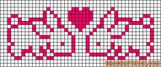 Alpha Friendship Bracelet Pattern #9125 - BraceletBook.com