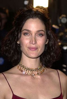 Carrie-Anne Moss at an event for Red Planet (2000)