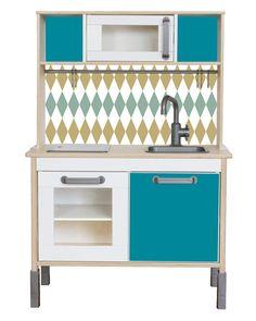 IKEA Kinderküche Zubehör: Möbelfolie RAUTIG Pimp von Limmaland