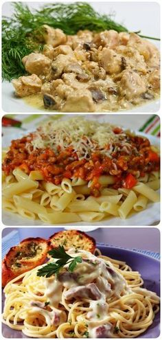 44 Ideas pasta recipes baked dishes for 2019 Baked Pasta Recipes, Pasta Dinner Recipes, Chicken Pasta Recipes, Healthy Salad Recipes, Vegetarian Recipes, Cooking Meme, Cooking Recipes, Dishes Recipes, Best Pasta Salad
