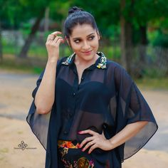 Sheer Black Shirt, Instagram Logo, Instagram Caption, Indian Videos, Knotted Shirt, Beauty Full Girl, Candid Photography, Indian Designer Wear, Indian Girls