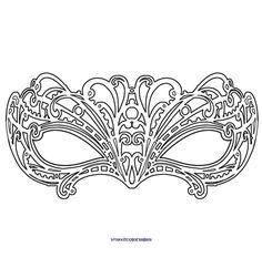 cyclops mask template - pin de en hobby pinterest mandalas