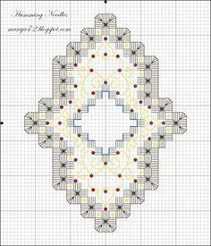 Hardanger Ornament Pattern no. 4