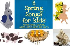 8 Spring Songs for Kids from Let's Play Music