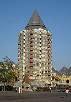 "Rotterdam woontoren ""het Potlood"" - apartment building ""the Pencil"""