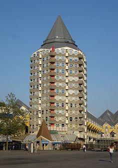 "Rotterdam woontoren ""het Potlood"" - apartment building ""the Pencil"""