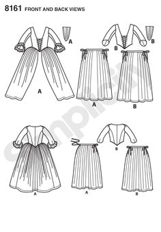 DIY Outlander Inspired Cosplay Pattern Series by American Duchess for Simplicity If you've been looking for affordable sewing patterns for century Cosplay dresses or a pattern for a corset, this 18th Century Dress, 18th Century Costume, 18th Century Clothing, 18th Century Fashion, 19th Century, Patron Simplicity, Simplicity Patterns, Claire Fraser, Cosplay Dress