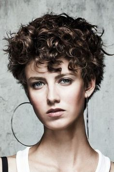 Admiring Short Curly Hairstyles | Hairstyles 2016, Hair Colors and Haircuts