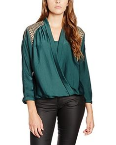 Pepe Jeans London Blusa Cald  [Verde Scuro]