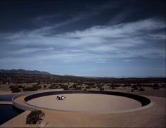 The Tom Ford Ranch. In the arid lands of Santa Fe, in New Mexico, is this almost acre ranch designed by Tadao Ando for Tom Ford. Tadao Ando, New Mexico, Tom Ford, John Pawson, Steven Holl, Carlo Scarpa, Kengo Kuma, Vogue Paris, Santa Fe Ranch