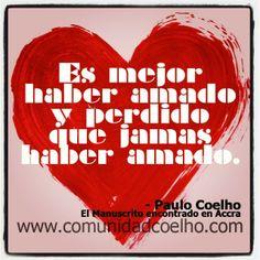 El #Amor, en el #ManuscritodeAccra de @Paulo Fernandes Fernandes Fernandes Coelho - Más, en www.comunidadcoelho.com