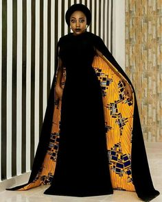 African Dress With Cape/African Dress Prom/African Print Dress/African Clothing/African Dress/Kitenge/African Dresses for Women/Ankara Dress African Party Dresses, African Dresses For Women, African Print Dresses, African Attire, African Wear, African Fashion Dresses, African Style, African Prints, Fashion Outfits