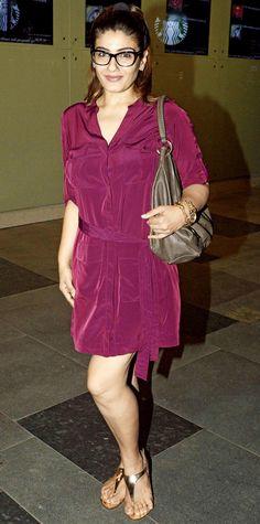 Raveena Tandon spotted in Lower Parel, Mumbai. Bollywood Actress Hot, Bollywood Celebrities, Bollywood Fashion, Hot Actresses, Indian Actresses, Raveena Tandon Hot, Lara Dutta, Cute Asian Girls, Star Fashion